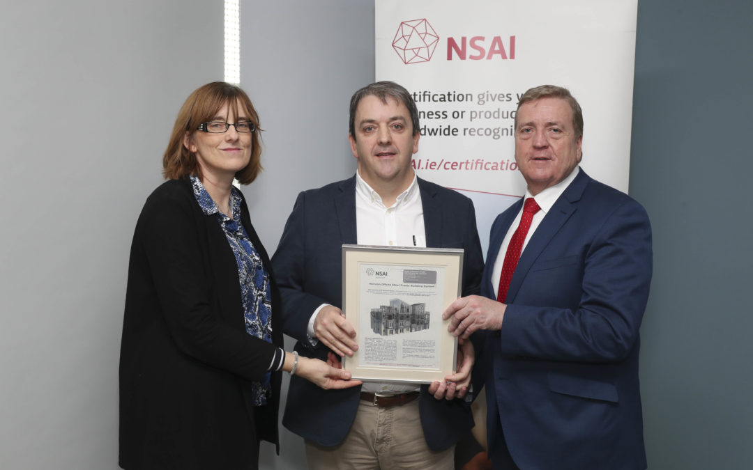 Construction manufacturer Horizon Offsite Ltd. awarded NSAI Agrément Certification